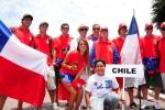 Team Chile.Credit: ISA / Michael Tweddle