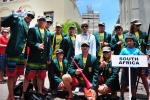 Team South Africa. Credit: ISA / Michael Tweddle