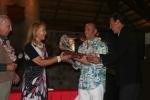 Eduardo Arena, Marita Prado, ISA President Fernando Aguerre and Jose Osterling. Credit: ISA