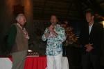 Eduardo Arena, ISA President Fernando Aguerre and Jose Osterling. Credit: ISA