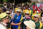Team Australia and ISA President Fernando Aguerre. Credit: ISA / Michael Tweddle