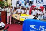 Team Peru and ISA President Fernando Aguerre. Credit: ISA / Michael Tweddle