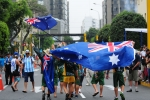 Team Australia. Credit: ISA / Michael Tweddle