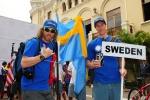 Team Sweden. Credit: ISA / Michael Tweddle