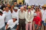 Karin Sierralta , Eduardo Arena, ISA President Fernando Aguerre.. Credit: ISA / Michael Tweddle