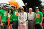 Team Ireland, ISA President Fernando Aguerre and Eduardo Arena. Credit: ISA / Michael Tweddle