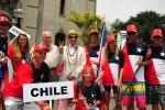 Team Chile. Credit: ISA / Michael Tweddle