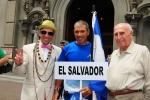 ISA President Fernando Aguerre and Eduardo Arena. Credit: ISA / Michael Tweddle