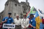 Team Sweden, Eduardo Arena and ISA President Fernando Aguerre. Credit:ISA/ Rommel Gonzales