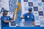 Team Sweden. Team Sweden, Eduardo Arena and ISA President Fernando Aguerre. Credit:ISA/ Rommel Gonzales