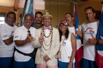 Team Puerto Rico and ISA President Fernando Aguerre. Credit:ISA/ Rommel Gonzales