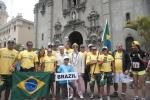 Team Brazil, Eduardo Arena and ISA President Fernando Aguerre. Credit:ISA/ Rommel Gonzales