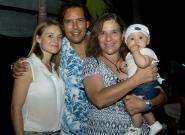 Johanna Andreani, ISA Vice President Karin Sierralta and Lucy Valenti with Kiara. Credit: ISA/Michael Tweddle