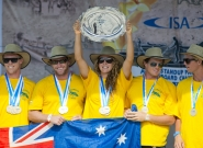 Team Australia World Champion. Credit: ISA/Michael Tweddle