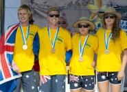 Team Australia Relay Gold Medalist. Credit: ISA/Michael Tweddle