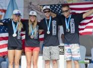 Team USA Relay Silver Medalist. Credit: ISA/Michael Tweddle