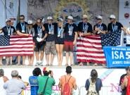 Team USA Silver Medalist. Credit: ISA/Michael Tweddle