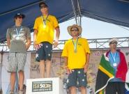Men's Medalists Technical Race. Credit: ISA/Rommel Gonzales