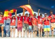 Team Spain. Credit: ISA/Rommel Gonzales