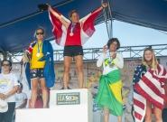 Women's SUP Long Distance. Credit: ISA/Rommel Gonzales