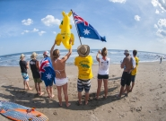 Team Australia. Credit: ISA/Rommel Gonzales
