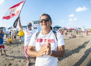 Team Tahiti. Credit: ISA/Rommel Gonzales