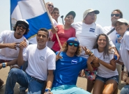 Team Nicaragua. Credit: ISA/Michael Tweddle