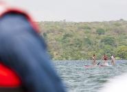Women Distance Race Nicaragua Lake. Credit: ISA/Rommel Gonzales