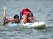 Men's Technical Paddleboard. Credit: ISA/Michael Tweddle