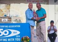 ISA Vice President Alant Atkins and Mayor of Diriamba Fernando Baltodan. Credit: ISA/Rommel Gonzales