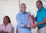 ISA Vice President Alan Atkins and Mayor of Diriamba Fernando Baltodano. Credit: ISA/Michael Tweddle