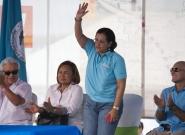 Minister of Tourism Mayra Salinas. Credit: ISA/Michael Tweddle
