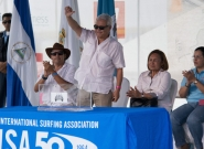 Nicaragua National Olympic President Emmet Lang. Credit: ISA/Michael Tweddle