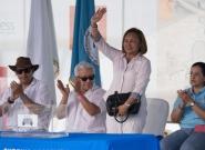 Mayor of Granada Julia Mena. Credit: ISA/Michael Tweddle