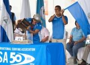 Team El Salvador. Credit: ISA/Michael Tweddle