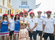Team France at the Parade Of Nations. Credit: ISA/Rommel Gonzales