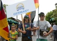 Team Germany. Credit: ISA/Michael Tweddle