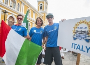 Team Italy at the Parade Of Nations. Credit: ISA/Rommel Gonzales