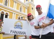 Team Panama. Credit: ISA/Michael Tweddle