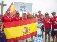 Team Spain at the Parade Of Nations. Credit: ISA/Rommel Gonzales