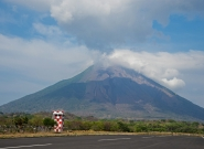 Ometepe Island New Airport Conepcion Volcano. Credit: ISA/Michael Tweddle