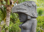Ometepe Island Sculpture. Credit: ISA/Michael Tweddle