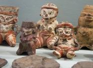 Precolumbian Ceramics Ceibo Museum Ometepe Island. Credit: ISA/Michael Tweddle