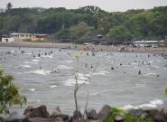 Rivas Beach Lake Nicaragua. Credit: ISA/Michael Tweddle