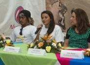 Norwin Estrella, Ana Urroz and Local Organizer Lucy Valenti. Credit: ISA/Michael Tweddle