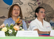 Mayor Of Granada Julia Maena and Executive of INTUR Mayra Salinas. Credit: ISA/Rommel Gonzales