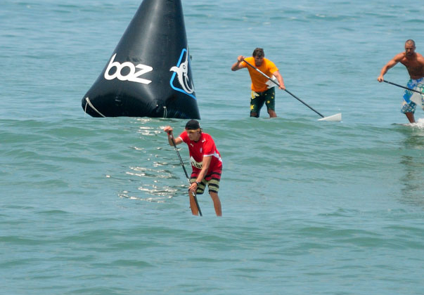 Denmark's Casper Steinfath, 2013 SUP Technical Race Gold Medalist, will compete in Nicaragua to defend his title. Photo: ISA/Michael Tweddle