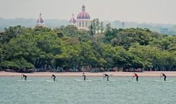 La histórica ciudad colonial de Granada, fundada en 1524, localizada en la costa noroeste del Lago Nicaragua, es la ciudad sede oficial del 2014 ISA World SUP and Paddleboard Championship. Foto: ISA/Michael Tweddle