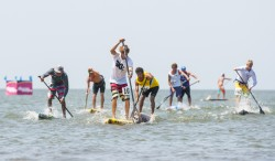 SUP RACING UNDERWAY ON LAKE NICARAGUA Image Thumb