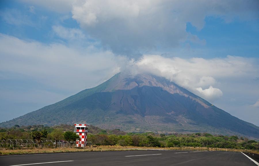 Concepcion Volcano on Ometepe Island, which is inside Lake Nicaragua. Photo: ISA/Michael Tweddle